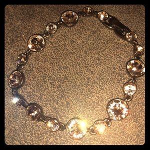 Givenchy Bronze Crystal Bracelet